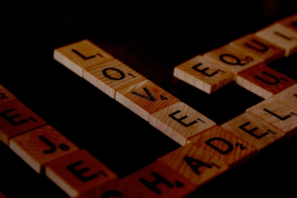 Scrabble by Adam Northam