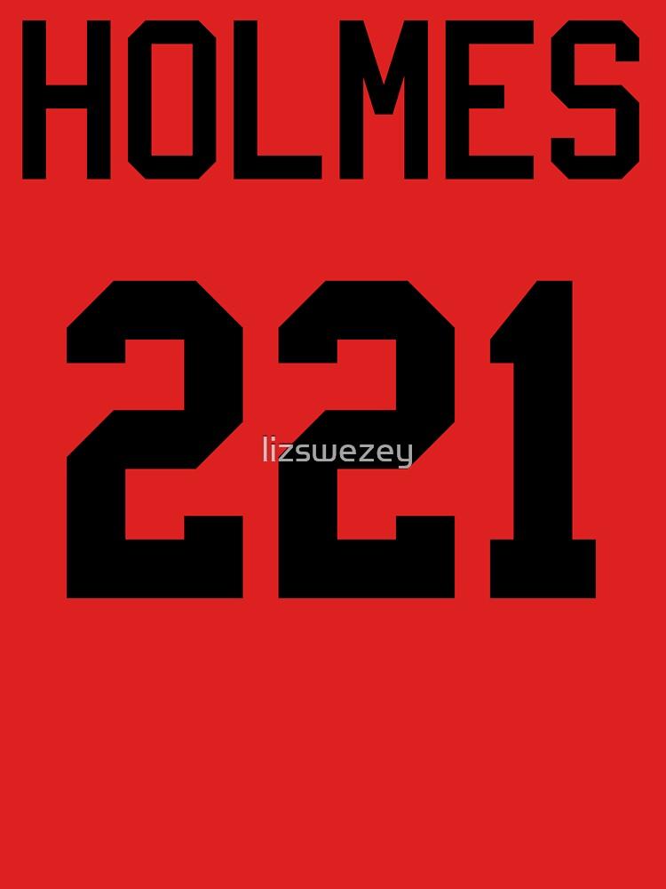 Sherlock Baseball-T by lizswezey