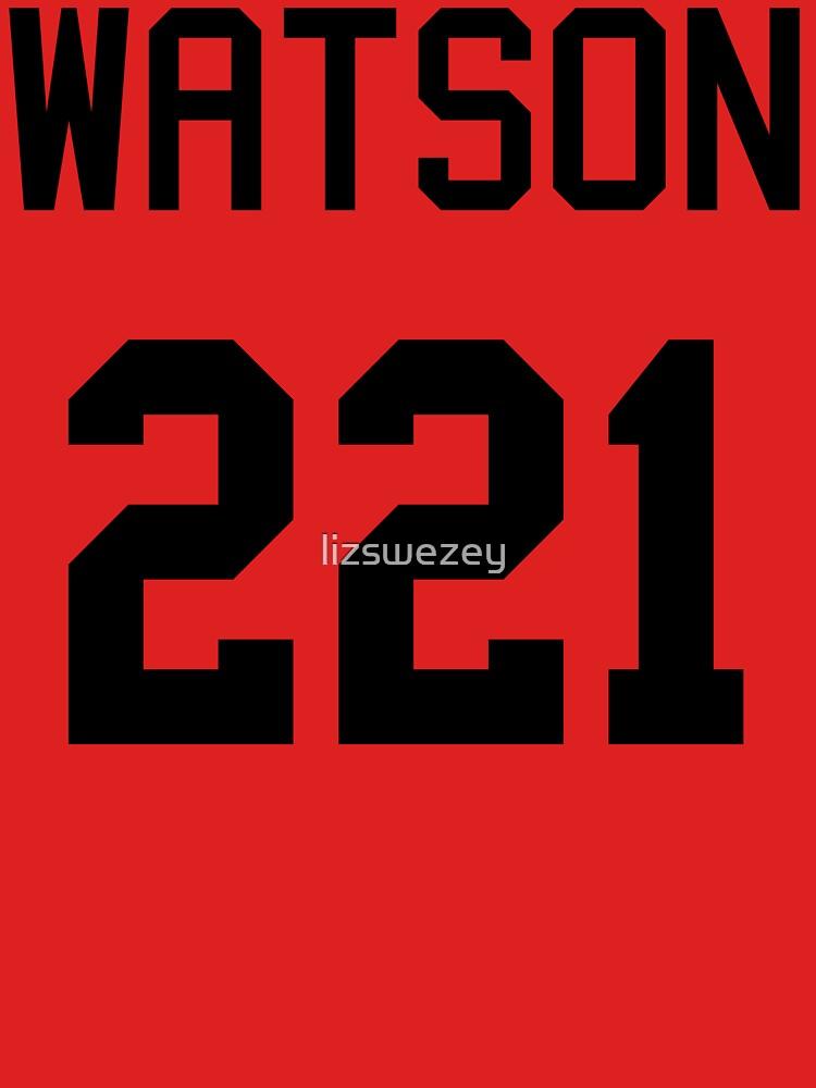 John Watson Baseball-T by lizswezey