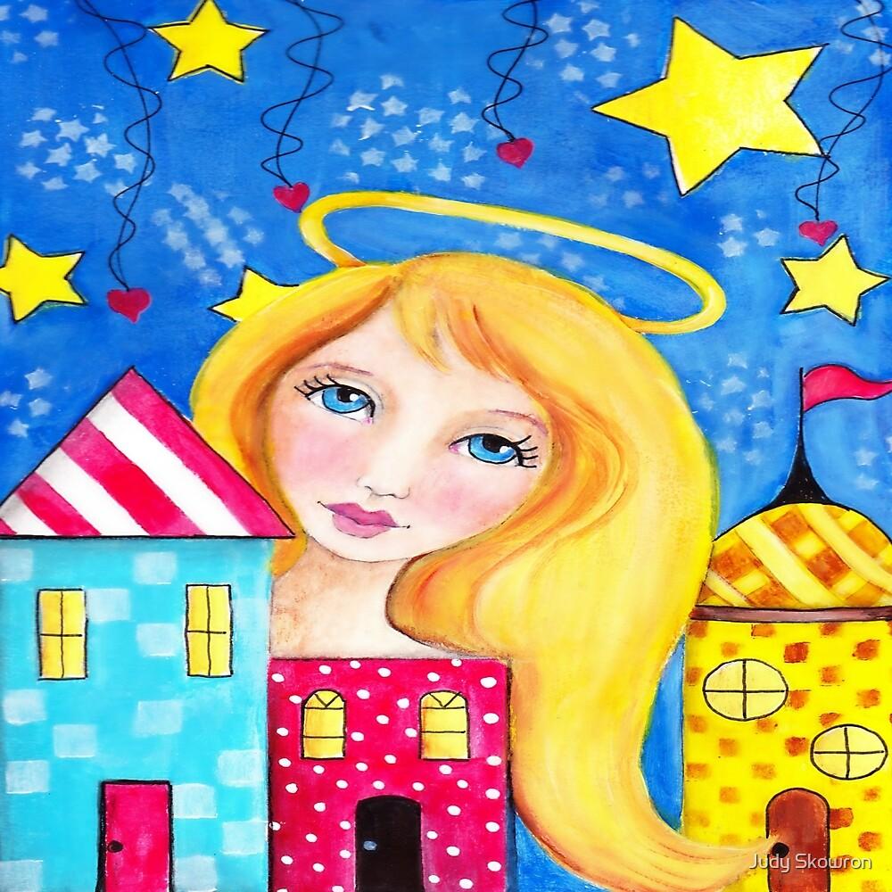 Angel Watching  by Judy Skowron