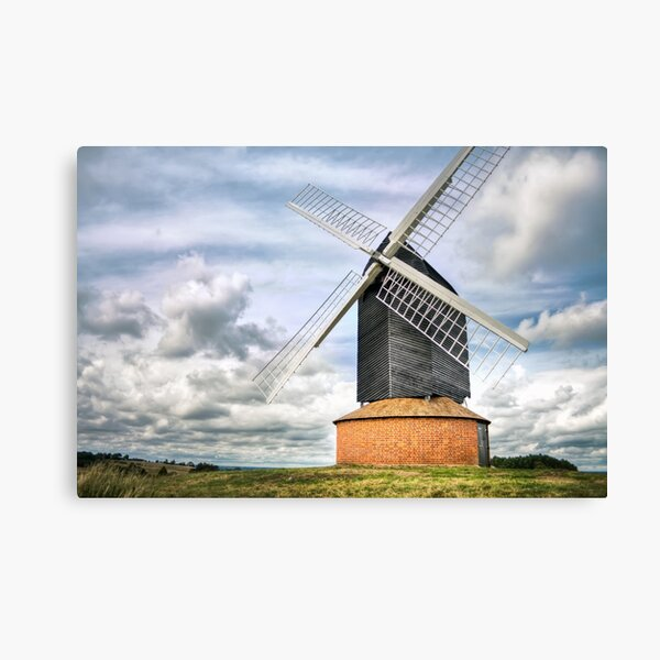 Brill Windmill, 11/07/09 Canvas Print