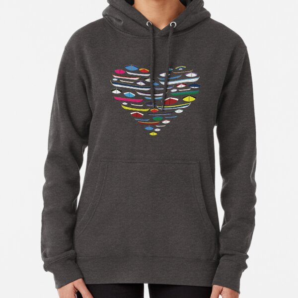 Heart full of boats Pullover Hoodie