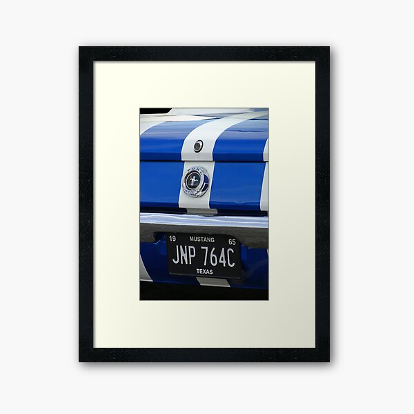 Ford Mustang Framed Art Print