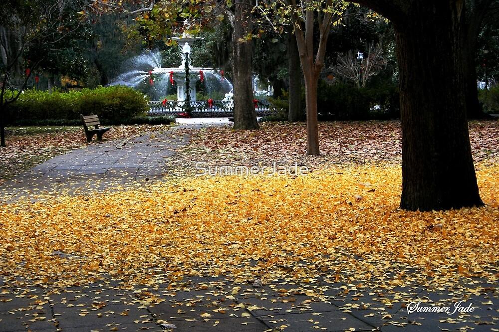 A Carpet of Golden Leaves by SummerJade