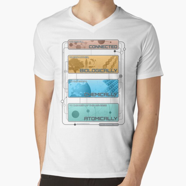 We Are All Connected V-Neck T-Shirt