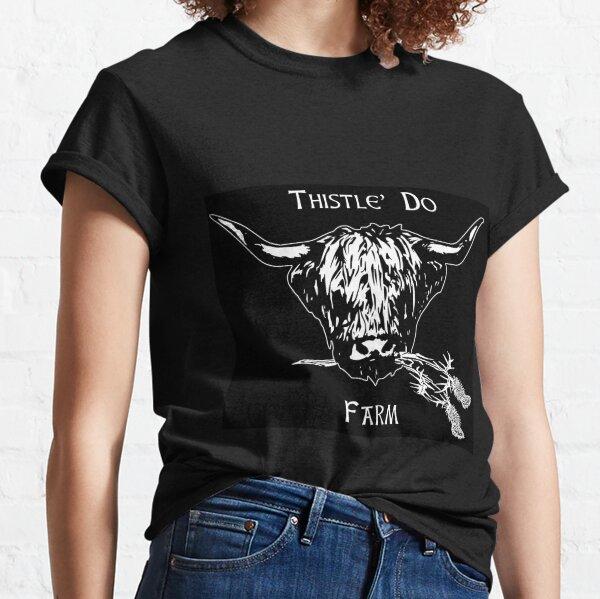 Thistle Do Farm official logo Classic T-Shirt