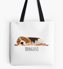 Bolsa de tela Beagles