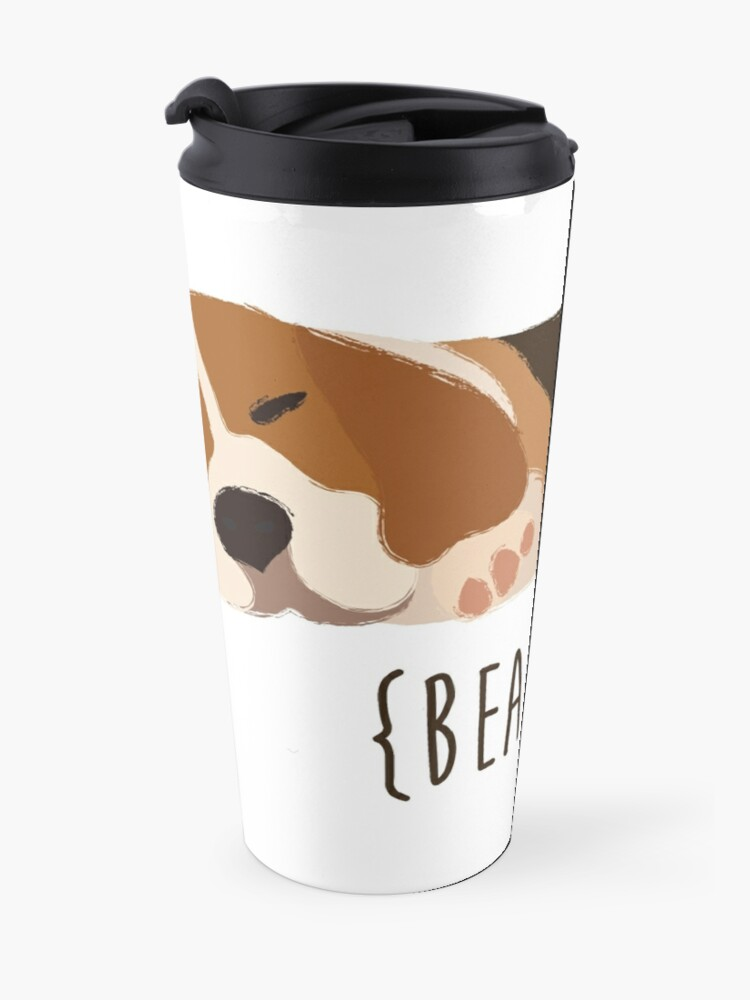 Alternate view of Beagles Travel Mug