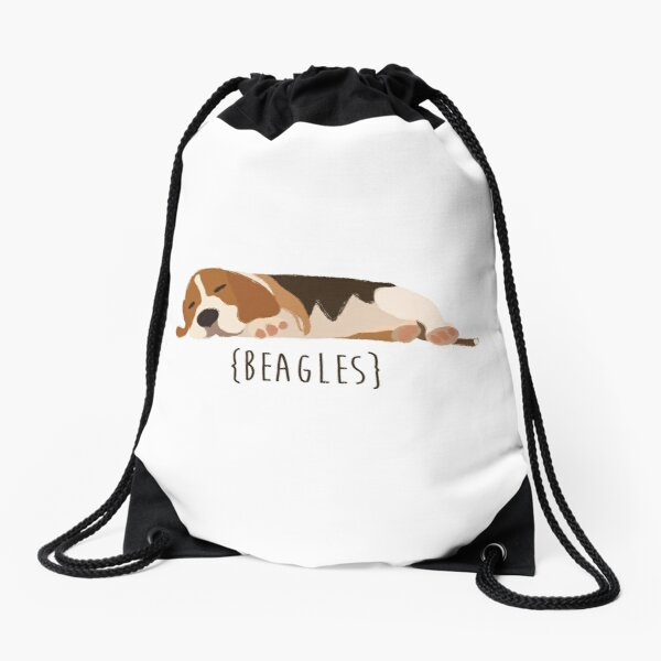 Beagles Drawstring Bag