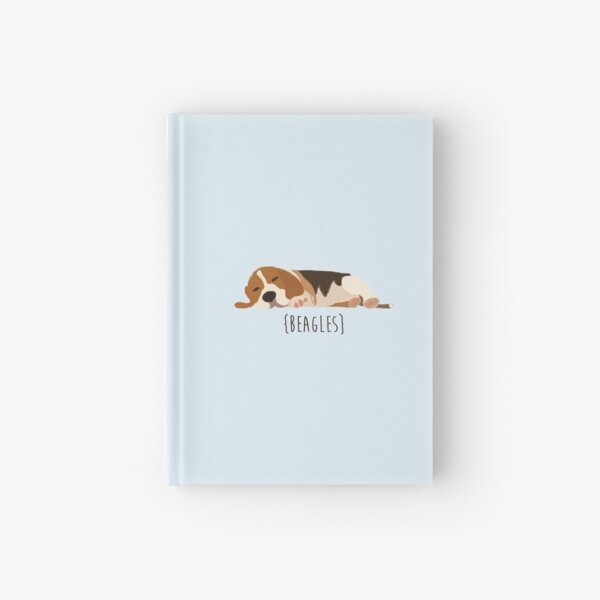 Beagles Hardcover Journal