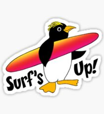 Surf's Up! Sticker