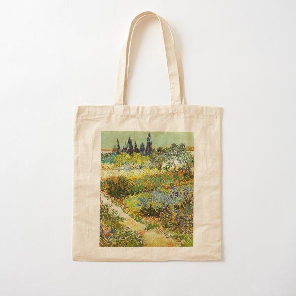 Van Gogh - Jardín en Arles Bolsa de algodón
