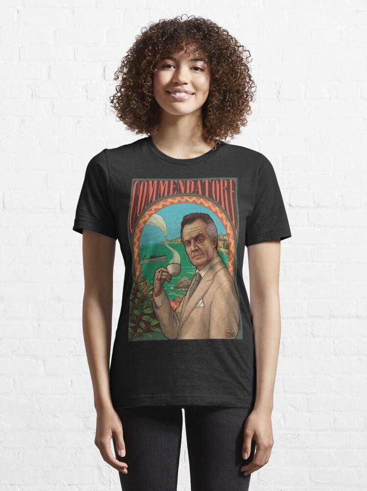 Alternate view of Commendatore - The Sopranos Essential T-Shirt