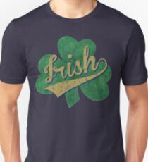 Shamrock Irish Vintage Unisex T-Shirt