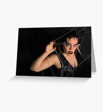 Black Widow Greeting Card
