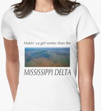 Mississippi Delta Women's Fitted T-Shirt