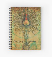 The Tree of Alchimi Spiral Notebook