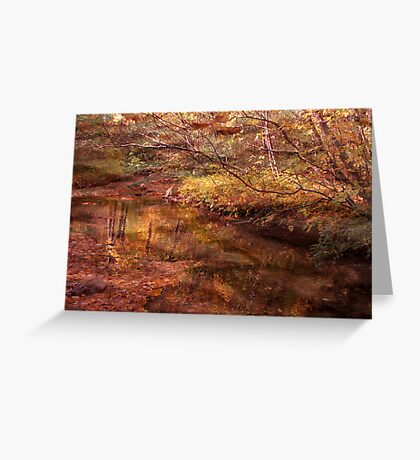 Golden Glade Greeting Card