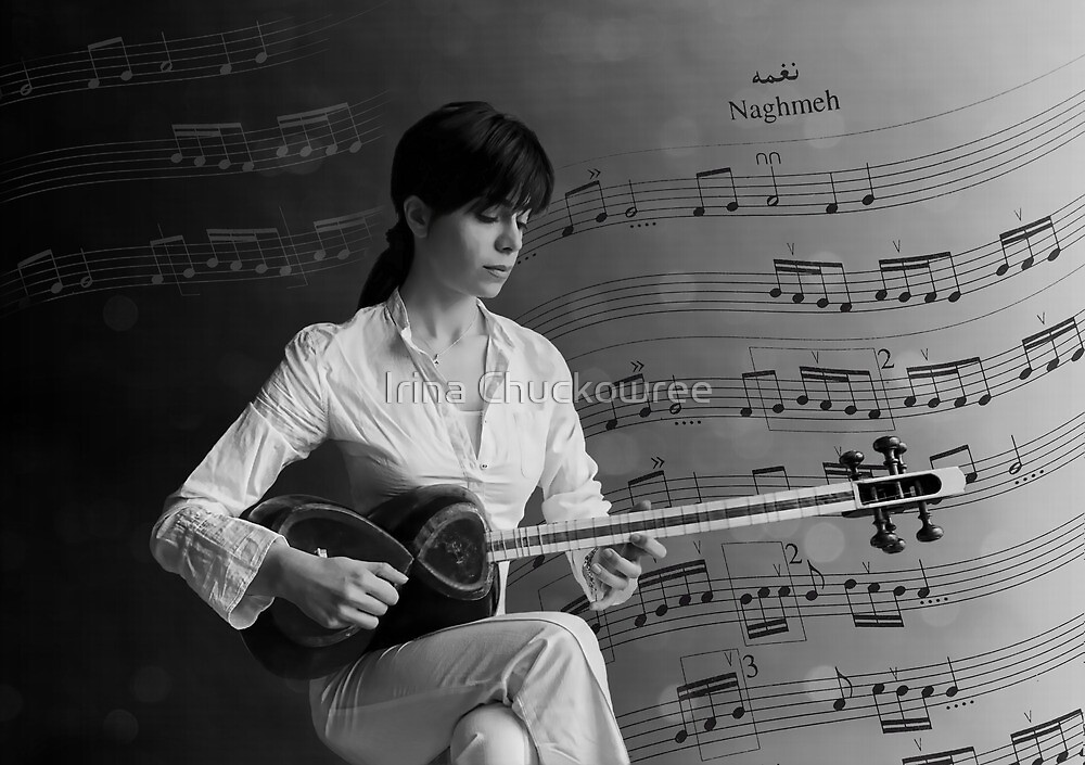 The Sounds of Persia by Irina Chuckowree