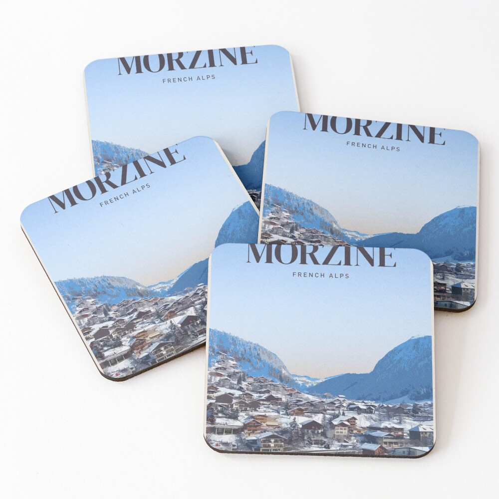 Visit Morzine Coasters (Set of 4)
