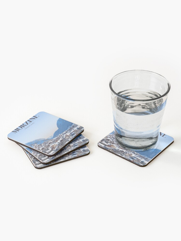 Alternate view of Visit Morzine Coasters (Set of 4)