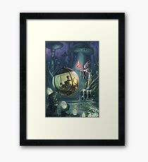 The Mushroom Fairy Framed Print