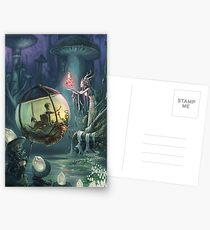 The Mushroom Fairy Postcards
