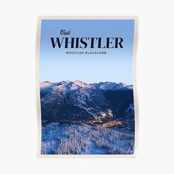 Visitez Whistler Poster