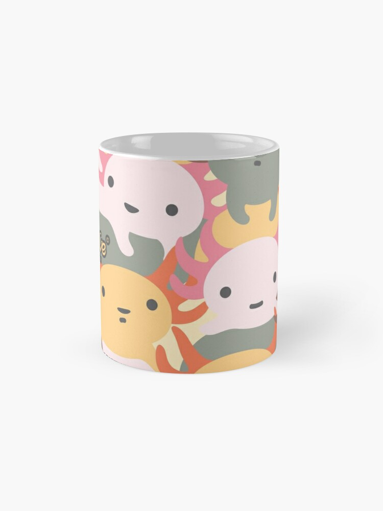 Alternate view of AXOLOTL WAVE - We are the CUTEST CREATURE in the Water World Mug