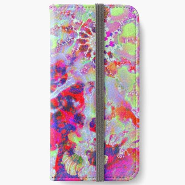 Fractalize Crimson iPhone Wallet