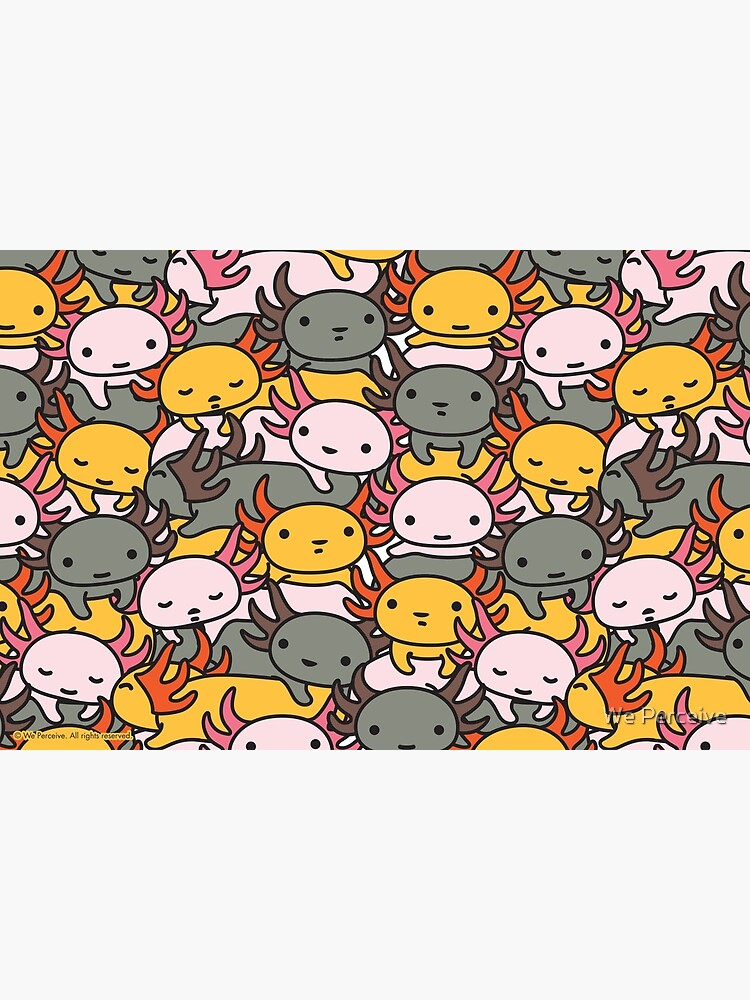 AXOLOTL WAVE Style 2 - We are the CUTEST CREATURE in the Water World by CitizenWong