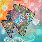 Psychedelic Fish by Laura Barbosa