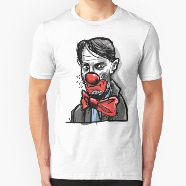 Hans, sad clown Slim Fit T-Shirt