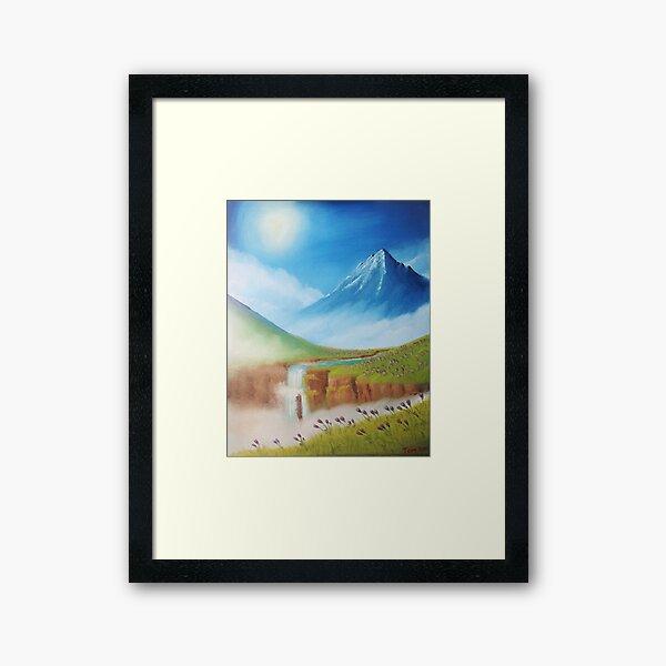 Floral Meadows of So'dal Framed Art Print