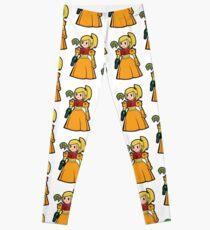 Samus the Metroid princess Leggings
