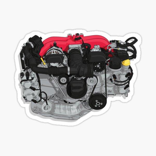 FA20 Engine sticker (BRZ) Sticker