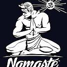 Namaste Detroit Schwarz und Weiß von NamasteDetBrand