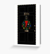 221 Before Christmas Greeting Card