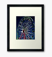 State Ferris Wheel Framed Print