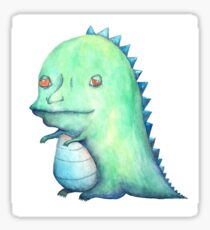 mopey dino Sticker