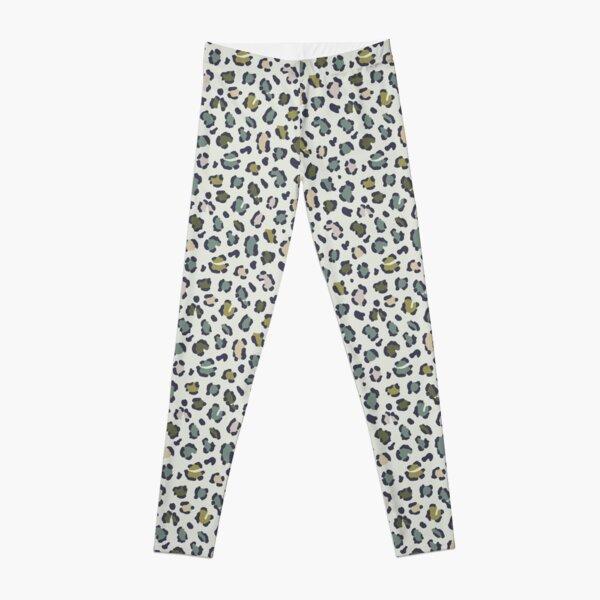 Fresh Green Leopard Spots Leggings