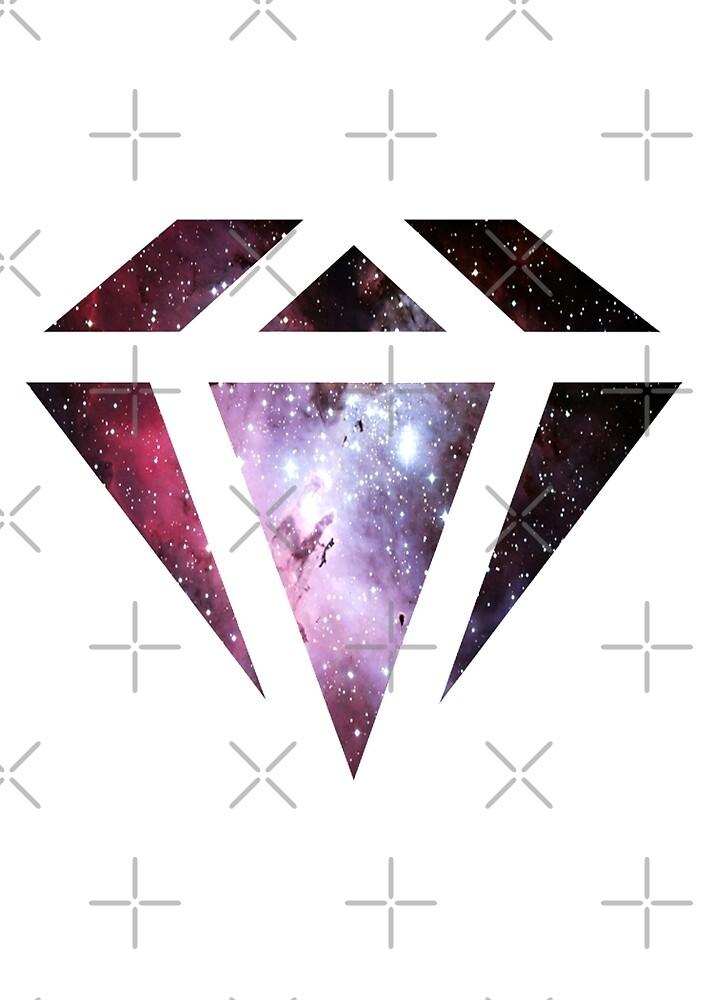 Galaxy Diamond by KaylaPhan