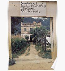 "Lavanderia ""El Jardin"" Poster"