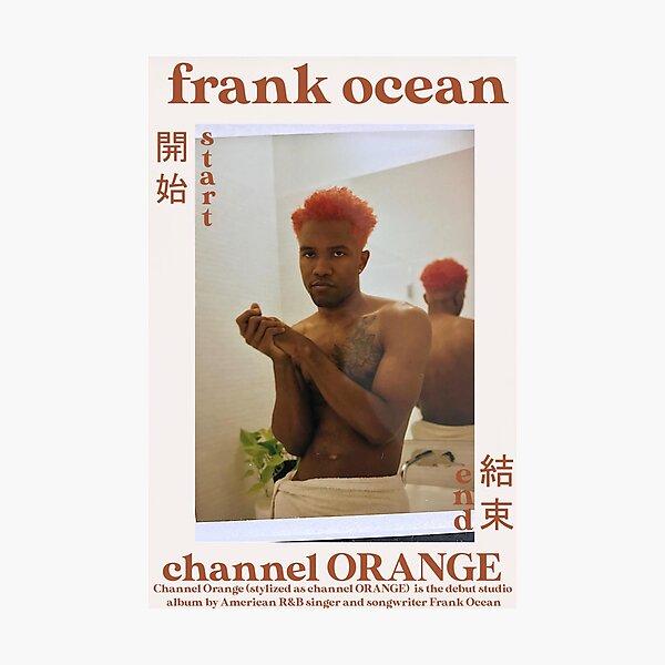 Frank Ocean Channel Orange Poster Photographic Print