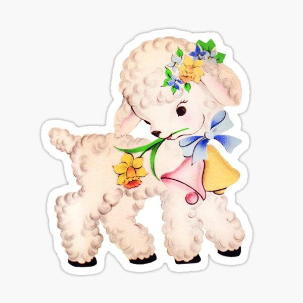 Kitsch lamb Sticker