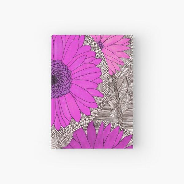 Gerbera Daisy- Magenta Hardcover Journal