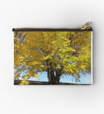 Golden Leaves Studio Pouch
