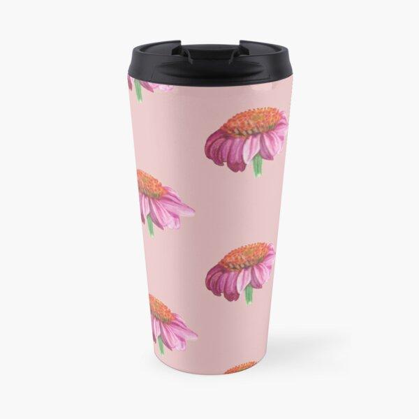 Purple cone flower Travel Mug