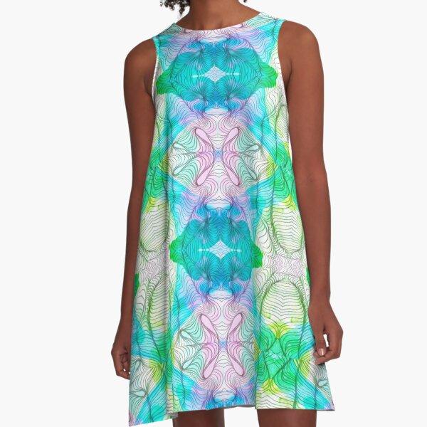 Murmurs A-Line Dress