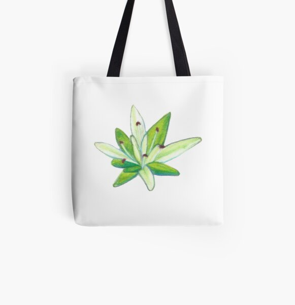 Stonecrop All Over Print Tote Bag